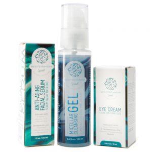 Facial Serum + Eye Cream + Micellar Gel
